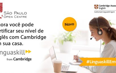 Agora você pode certificar seu nível de inglês com Cambridge em sua casa – Linguaskill
