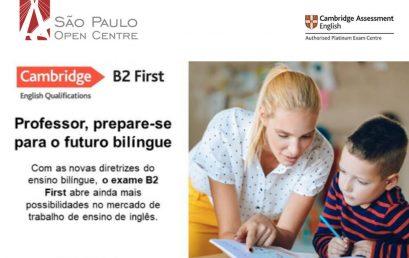 Professor, prepare-se para o futuro Bilíngue