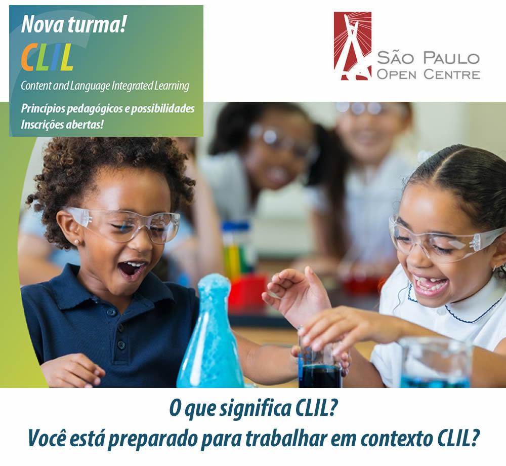 O que significa CLIL? Você está preparado para trabalhar em contexto CLIL?